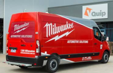 VQuip - Transforming Van Vehicles | Milwaukee Tools - Service Van