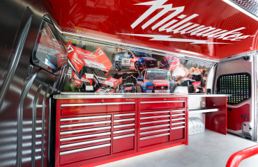 VQuip - Transforming Van Vehicles | Milwaukee Tools - Parts Drawers