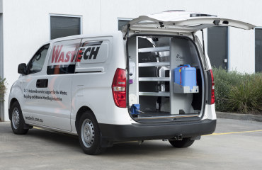 VQuip - Transforming Van Vehicles | Wastech - Service Van