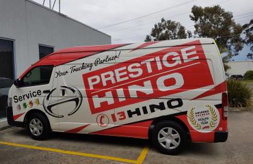 VQuip - Transforming Van Vehicles | Prestige Hino - Service Van