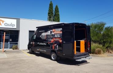 VQuip - Transforming Van Vehicles | AEG Tools - Custom Shelving