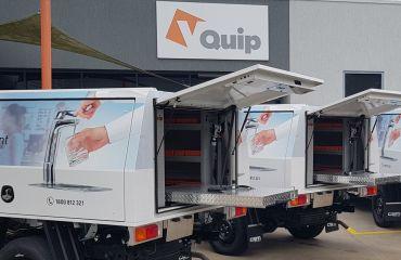 VQuip - Transforming Vehicles l Billi Water Systems - Service Van
