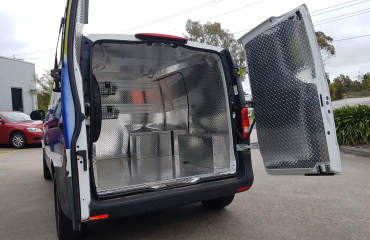 VQuip -Transforming Vehicles | Visa - Security Transfer Van