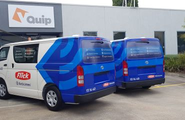 VQuip - Transforming Vehicles l Flick-Pest Control