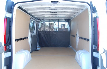 VQuip - Transforming Van Vehicles | Courier Van - MDF Floor and Walls