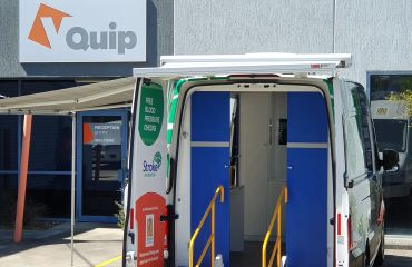 VQuip - Transforming Vehicles | Stroke Foundation Health Check Van - Img2